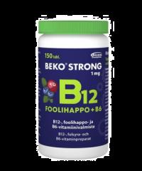 BEKO STRONG B12+FOOLIHAPPO+B6 MUSTIKKA-KARPALO 150 PURUTABL