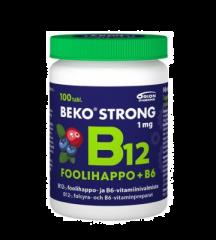 BEKO STRONG B12+FOOLI+B6 MUSTIKKA-KARPALO 100 PURUTABL