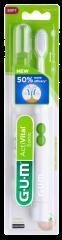 GUM ActiVital Sonic paristohammasharja valkoinen, sis. 1 hammasharjan + pariston 1 kpl