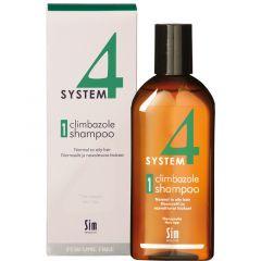 SYSTEM 4 CLIMBAZOLE SHAMPOO 1 NORMAALIT/RASVOITTUVAT HIUKSET 215 ML