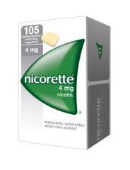 NICORETTE 4 mg lääkepurukumi 105 fol