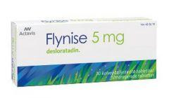 FLYNISE 5 mg tabl, kalvopääll 10 fol