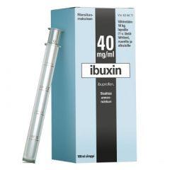 IBUXIN 40 mg/ml siirappi 100 ml